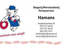 Scharrelslagerij Hamans sluit zich aan bij KDR